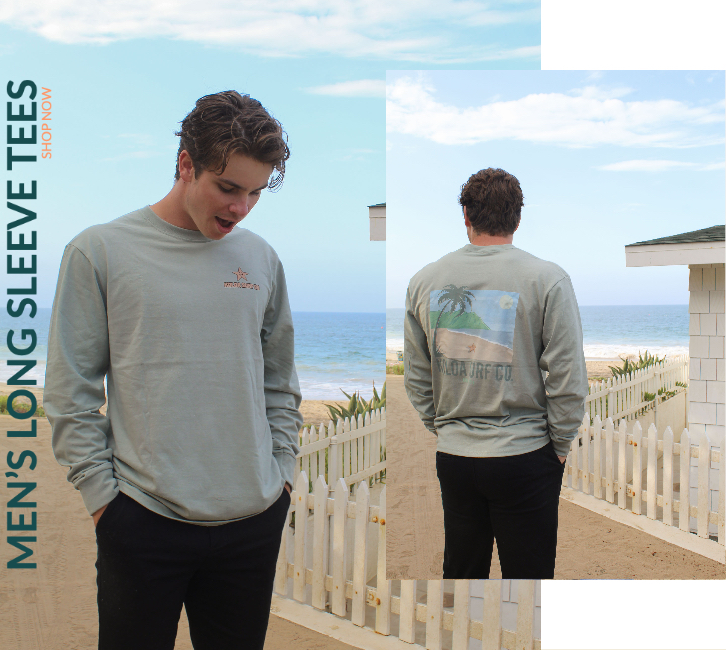 Shop men's long sleeves for the fall!