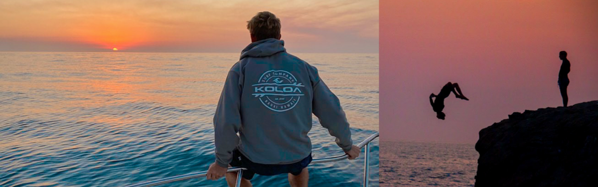 KOLOA SURF COMPANY YOUTH HOODIES