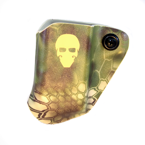 Custom Kydex Mag Carrier - Outside the Waistband (OWB) - Front - Kryptek Mandrake