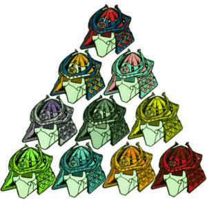 GFT Logo Samurai Baller Pack