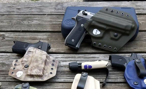 Custom Kydex Outside the Waistband (OWB) Holster