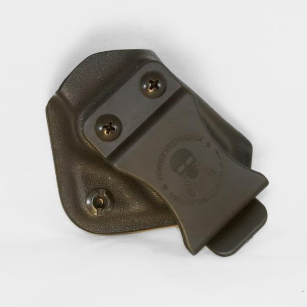 Custom Kydex Mag Carrier - Outside the Waistband (OWB) - Back - Black