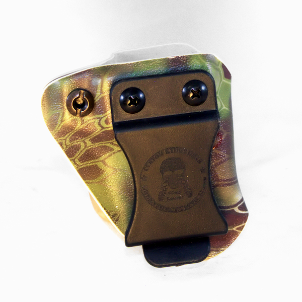 Custom Kydex Mag Carrier - Outside the Waistband (OWB) - Back - Kryptek Mandrake