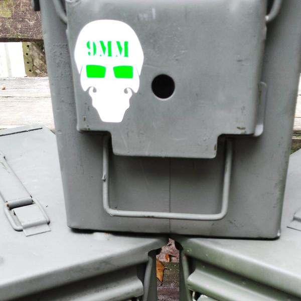 BFS Ammo Can Label Set