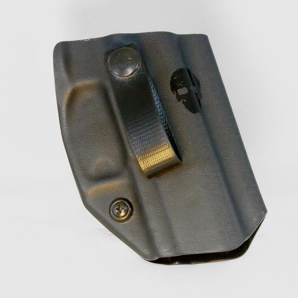 Custom Kydex Open-Bottom Holster - DB5K - Front - Black - P320