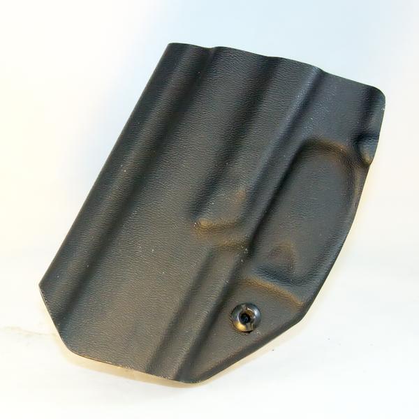 Custom Kydex Open-Bottom Holster - DB5K - Back - Black - P320