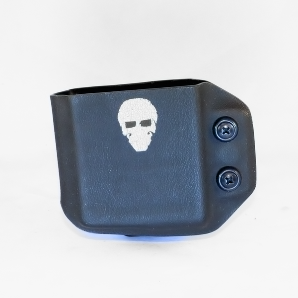 Custom Kydex AR Mag Carrier - The P-Mike - Front - Black