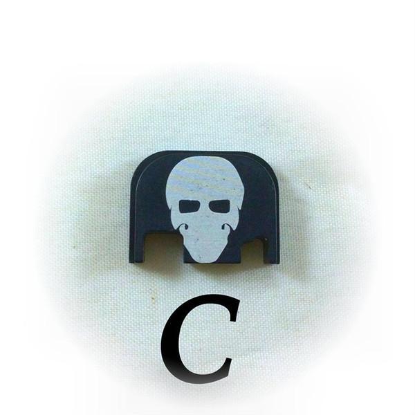Black Anodized finish with White engraved GFT Logo (Garry).