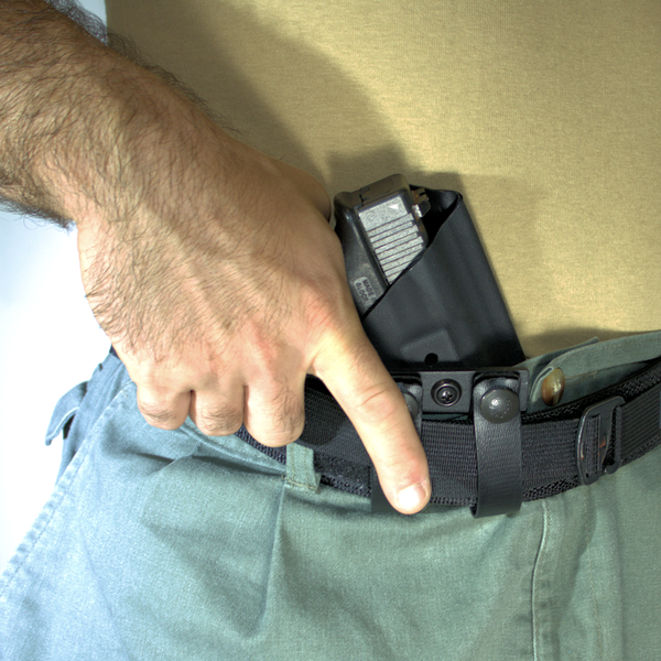 Berkut V2 - Adjustable Reverse Cant Appendix Holster - Draw  (Glock Not Included)