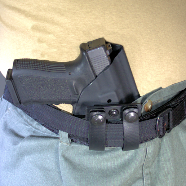 Berkut V2 - Adjustable Reverse Cant Appendix Holster - On Belt - Appendix  (Glock Not Included)