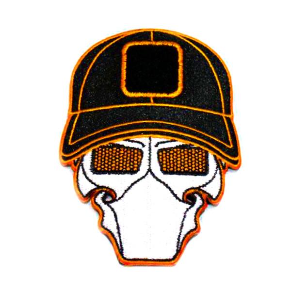 Cinder Orange Ball Cap Logo Patch