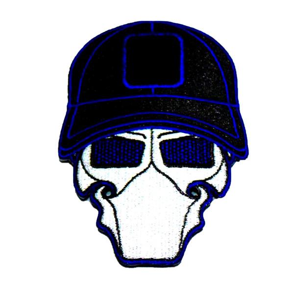 D@ta Blue Ball Cap Logo Patch
