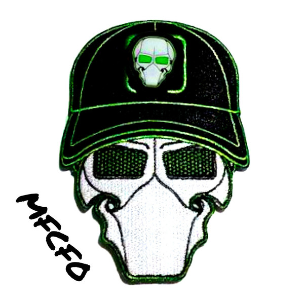 MFCFO Toxic Ball Cap Logo Patch with GFT Ranger Eye Patch