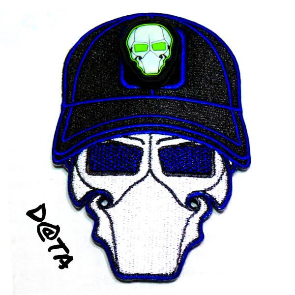 D@ta Blue Ball Cap Logo Patch with GFT Ranger Eye Patch