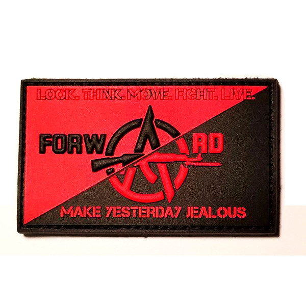 FTC Flag Patch (Red & Black)