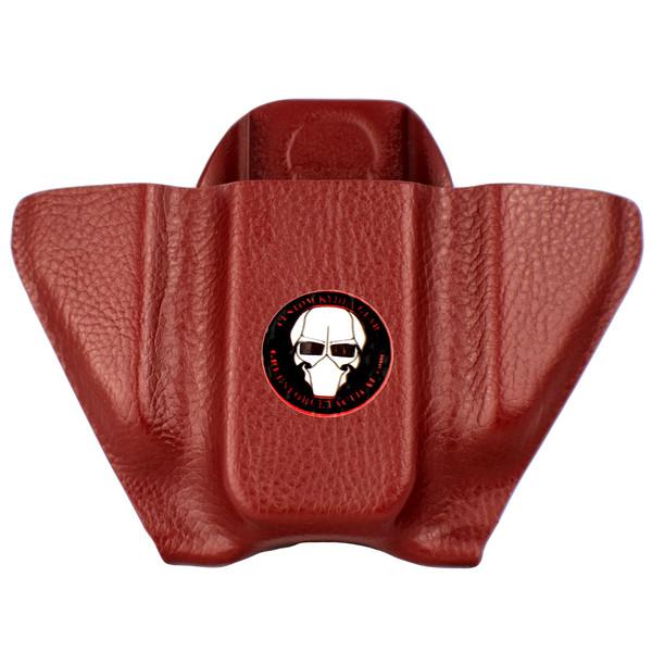 Pocket Mag Carrier - Double Stack - Chestnut Raptor - Front