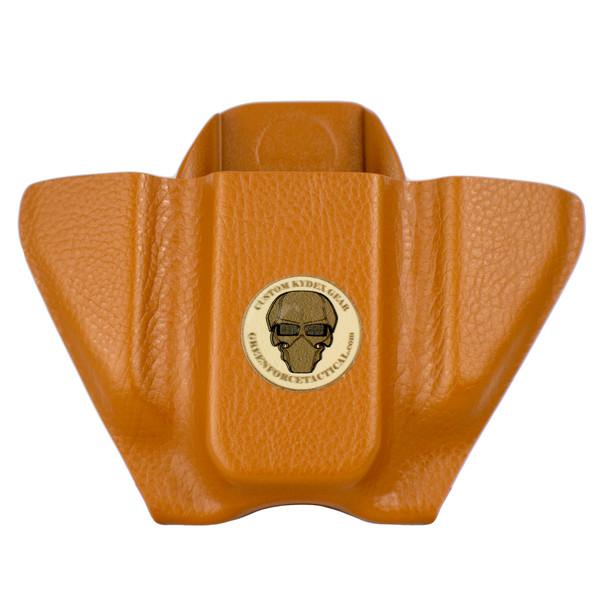 Pocket Mag Carrier - Double Stack - London Tan Raptor - Front