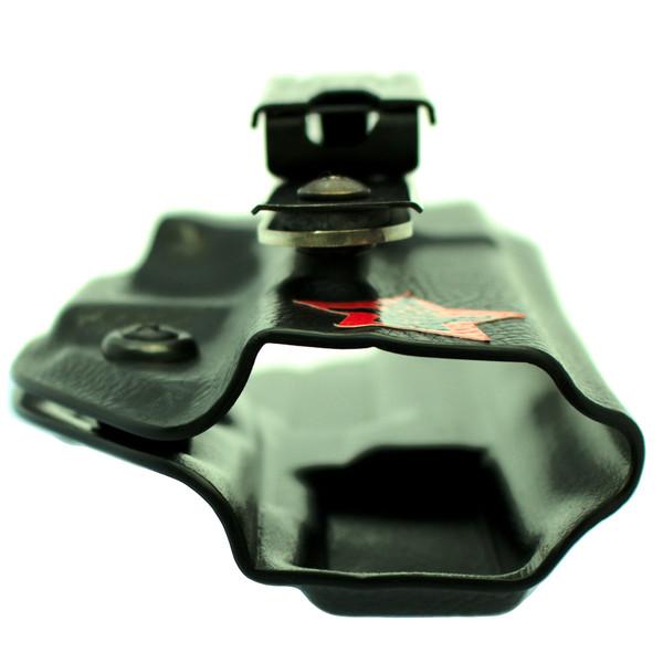 Berkut 2.1U - Adjustable Reverse Cant UltiClip XL Appendix Holster - Black Raptor