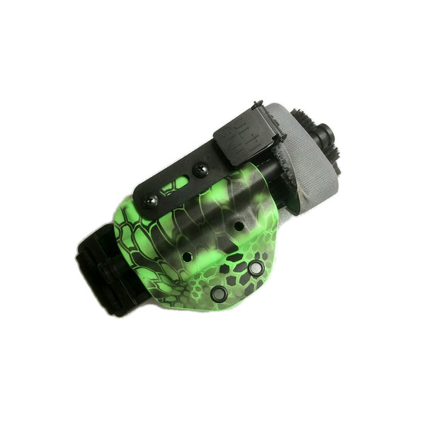 TQ Carrier - Kryptek Xtreme Zombie Green - UltiClip Attachment