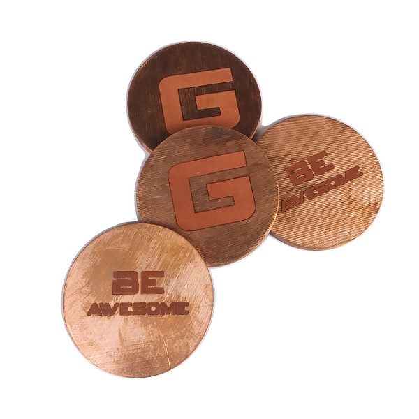 Copper Round GFT Coin