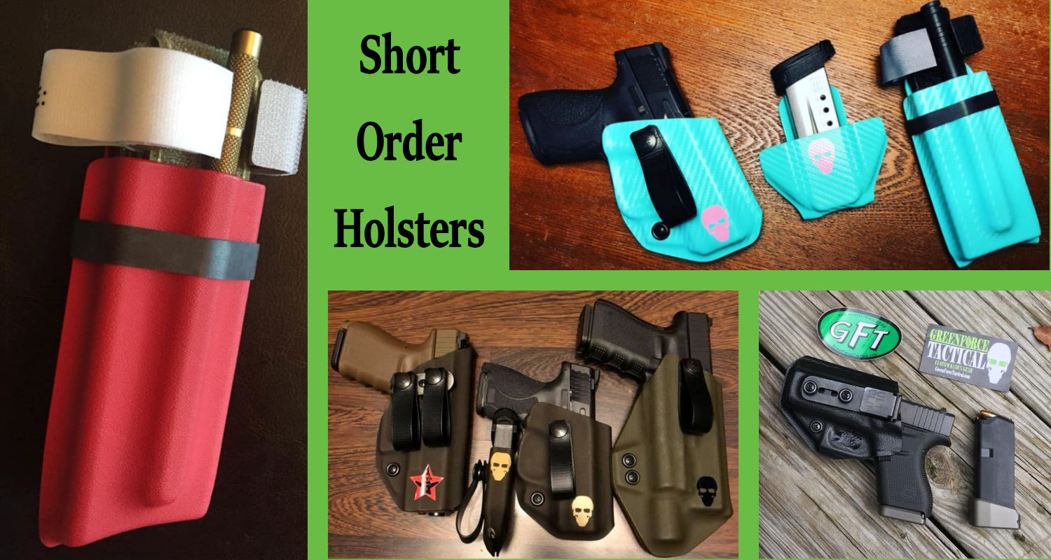 Short Order Kydex Holsters