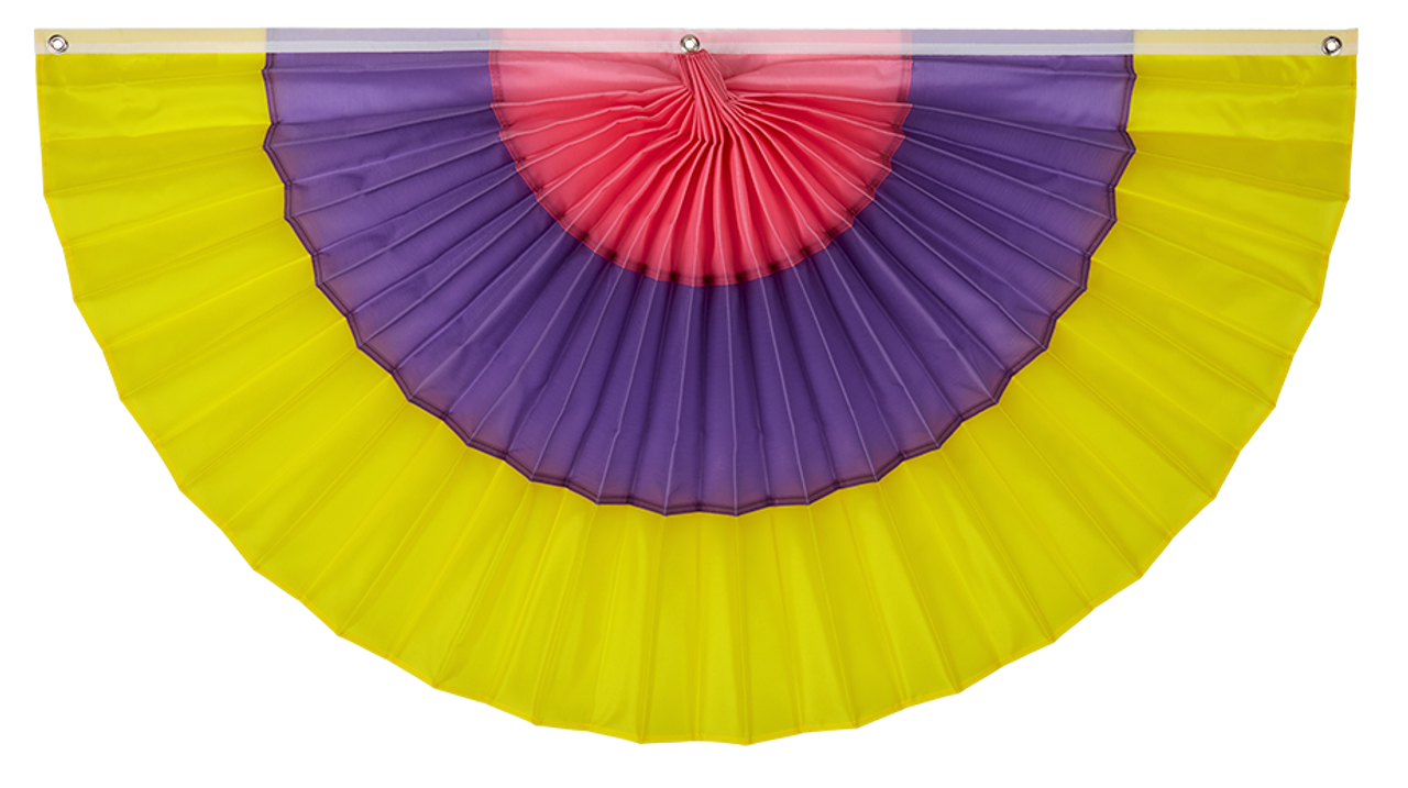 Easter/Spring Pleated Fan