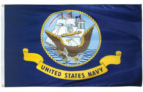U.S. Navy Flags - Nylon - 1 x 1 1/2'