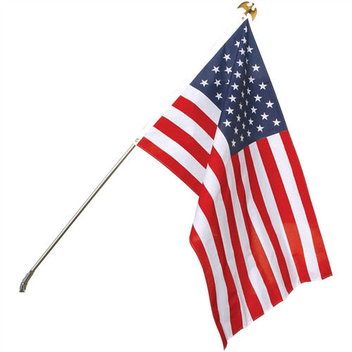U.S. Outdoor Banner Flag - Poly-Cotton - 2 1/2' x 4'