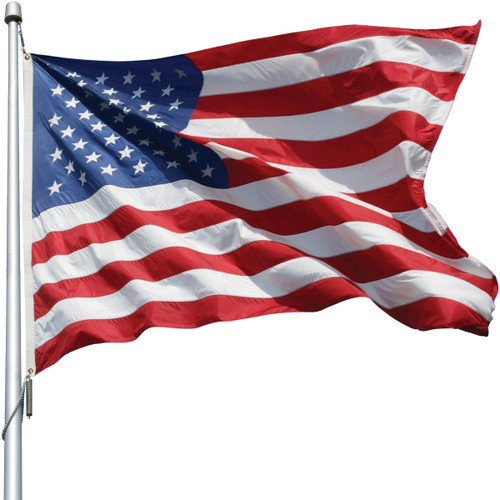 U.S. Outdoor Flag - Nylon  5' x 9 1/2' --- OUT OF STOCK