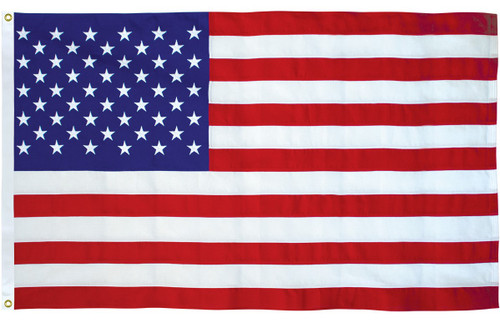 U.S. Outdoor Flag - Cotton - 5' x 9 1/2'