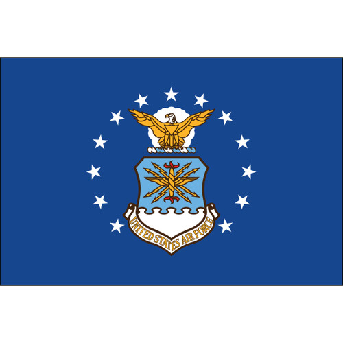 U.S. Air Force Flags - Nylon - 1' x 1 1/2'
