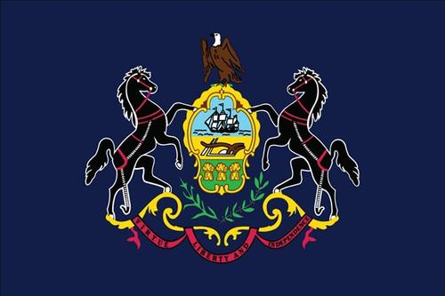State of Pennsylvania Flag