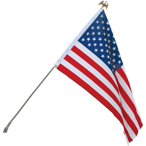 U.S. Outdoor Banner Flag - Polyester - 2 1/2' x 4'