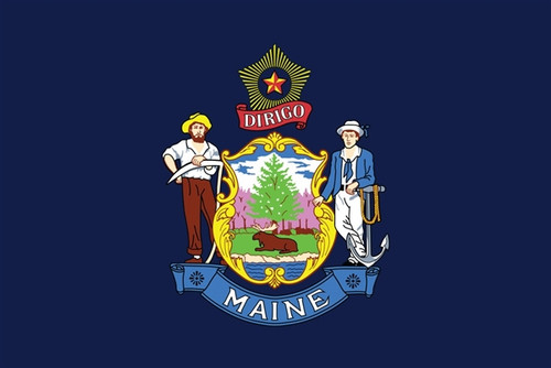 State of Maine Flag