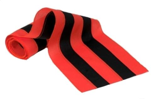"Halloween Nylon Bunting - Orange/Black/Orange/Black/Orange - 18"" Width"