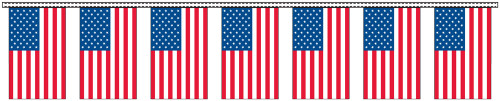 U.S Flag Streamers