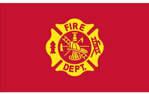 Civilian Service Flags - Fire Department - Nylon - 3' x 5'