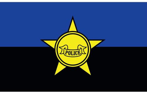 Civilian Service Flags - Police Remembrance - Nylon - 3' x 5'