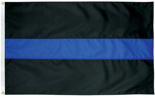 Civilian Service Flags - Thin Blue Line - Nylon - 3' x 5'