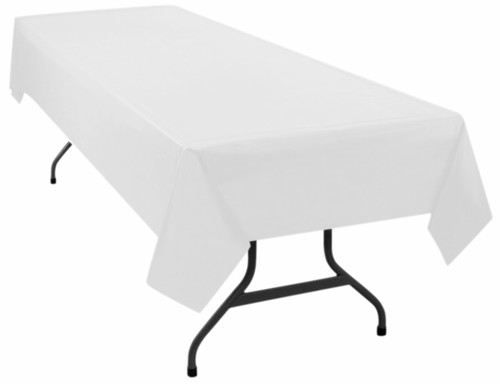 American Patriotic Tablecloth - White