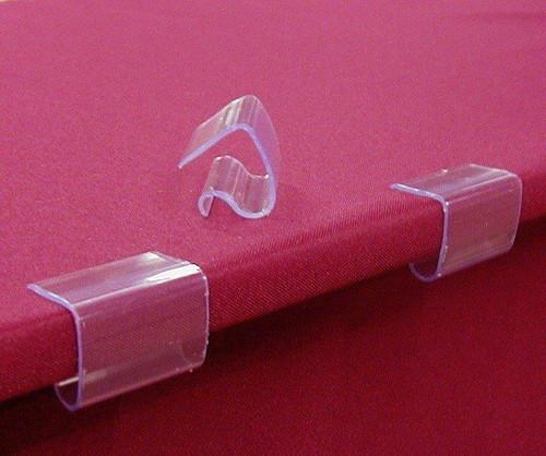 American Patriotic Tablecloth Clips - Small