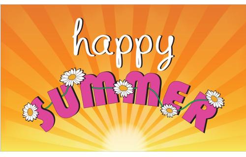 Seasons Flag -Summer - Nylon - 3' x 5'