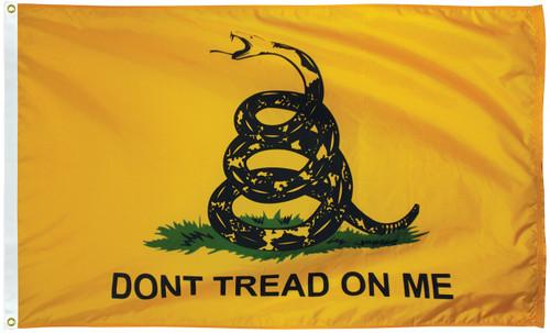 U.S Historical Flag - Gadsden - Nylon - 3' x 5'