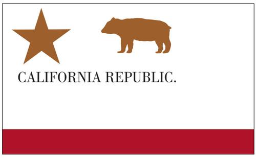 U.S Historical Flag - California Republic - Nylon - 3' x 5'