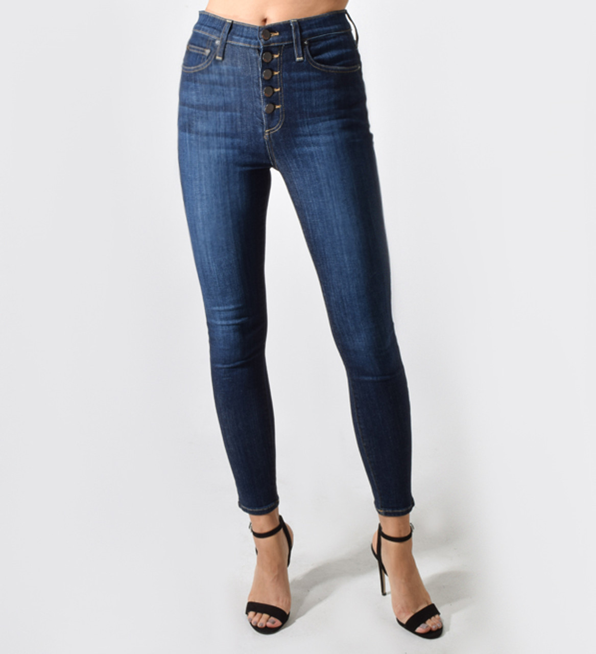 8c450cd1d92 X1https://cdn7.bigcommerce.com/s-3wu6n/products/ ·  X1https://cdn7.bigcommerce.com/s-3wu6n/products/ · Alice + Olivia Good High  Rise Exposed Button Jean ...