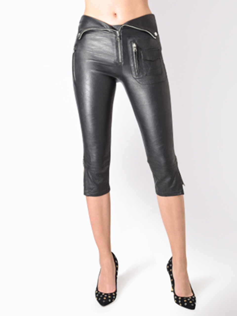 best loved how to buy various colors Valentine Leather Pant in Nightlife