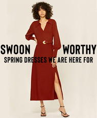 Swoon-Worthy Spring Dresses We Are Here For