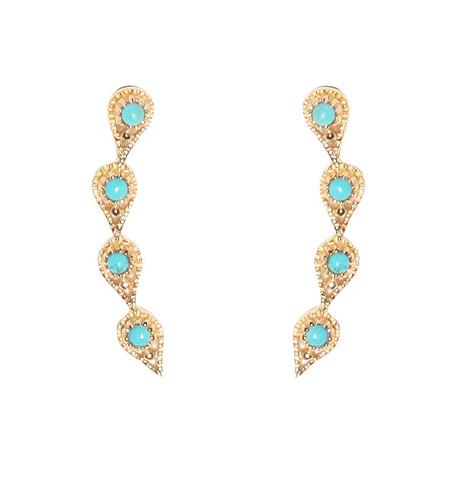 Eddera Isabella Crawlers Turquoise