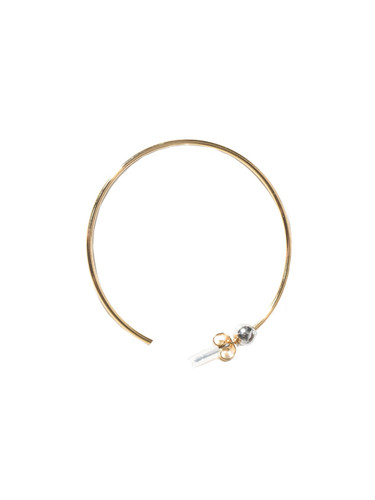Jenny Bird Icon Hoops in Gold