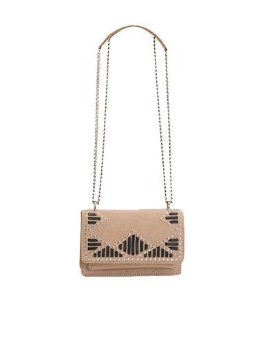 IRO Venice Studded Bag in Beige